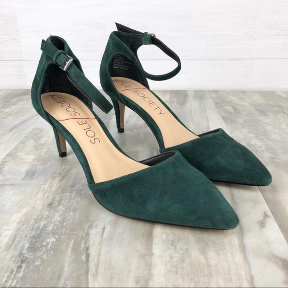 a31bf9551 Sole Society Ayla Ankle Strap Heels 9.5. M 5cba1861fe19c7f736126b8f